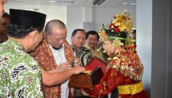 Tidak Mau Kehilangan Momentum, Wagub Babel Promosikan Lada Kepada Ketua DPD RI