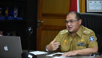 Tidak Menunggu Reda, Gubernur Erzaldi Sudah Mulai Langkah Pemulihan Covid-19