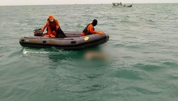 Tiga Hari Pencarian, Jenazah Liem Ditemukan di Perairan Tukak Sadai