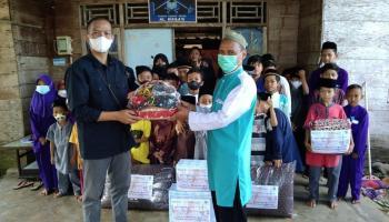 Tim Baher Salurkan Bantuan Sosial Keagamaan ke Rumah Tahfidz Rias, Musholla, dan Rumah Mengaji