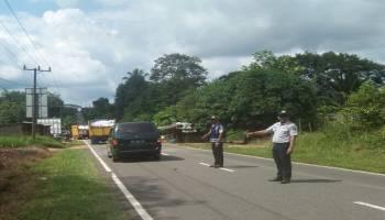 Tim Gabungan Disperkimhub dan Lantas Polres Bangka Tengah Amankan 8 Kendaraan Tanpa Surat