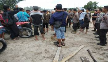 Tim Gabungan Tertibkan TI Ilegal di Hutan Kuruk Lubuk