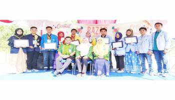 Tim IPB Rebut Juara 1 Lomba Karya Tulis Ilmiah Nasional 2018