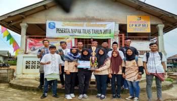 Tim Mapala Stisipol Pahlawan 12 Bangka Juara Harapan 1 Lomba Napak Tilas