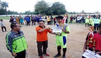 Tim Sepak Bola Sempan Putra Wakili Kabupaten Bangka Dalam Liga Pelajar Piala Kemenpora