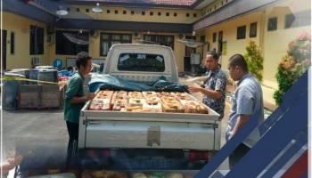 Timbun BBM Bersubsidi Sebanyak 1,2 Ton, Dua Warga Koba Diamankan Tim Polres Bangka Tengah