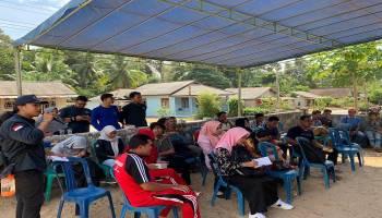 Tingkatkan Ekonomi Masyarakat, KKN Revolusi Mental UBB Gelar Pelatihan UMKM di Desa Berbura