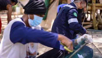 Tingkatkan Hasil Tangkapan, Kelompok Nelayan Semujur Indah Bersama PT Timah Buat Rumpon