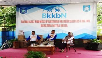 Tingkatkan Kualitas, BKKBN Babel Sosialisasi Promosi Pelayanan KB