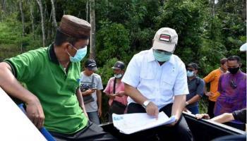 Tingkatkan Produktivitas Pertanian, Gubernur Erzaldi Tinjau Sawah Desa Kemuja dan Payabenua