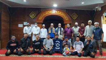 Tingkatkan Silaturahmi, BSS Gelar Safari Dakwah di Masjid Kayu Albani