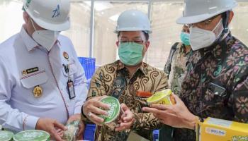 Tinjau Kesedian Bahan Baku Sagu dan Tapioka, Tim Kajian Daerah Wantannas Kunjungi PT BAA