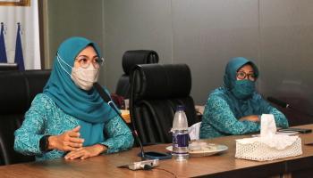 TP PKK Babel Pelopor Pelaksanaan Protokol Kesehatan Masyarakat