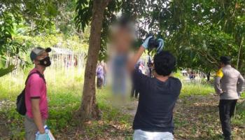 Tragis, Diduga Hamili Adik Ipar, Pria Ini Gantung Diri di Kebun Buah