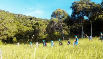 Traventure ke Tanjung Lacur Pulau Mendanau