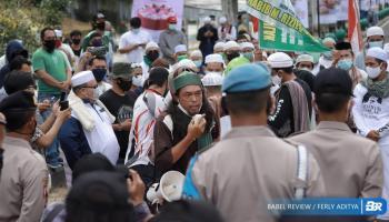 Tuntut 7 Poin Penanganan Habib Rizieq, Puluhan MMP Gelar Aksi Damai