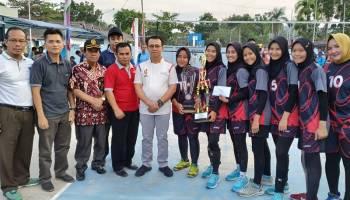 Tutup Kejuaraan Bola Voli Bupati Cup 2019, Syahbudin Berharap Digelar setiap Tahun