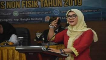 UMKM Babel Bisa Naik Kelas, Istri Gubernur Sampaikan Strategi Dihadapan 80 Pengusaha