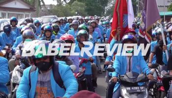 Unjuk Rasa Mahasiswa di Mapolda Babel, Tonton Videonya Disini