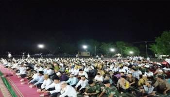 Untuk Kelancaran Pelantikan Presiden dan Wakil Presiden, Forkompimda Bangka Barat Gelar Doa Bersama Masyarakat