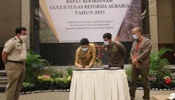 Upaya Reforma Agraria, Sekda Babel Dorong Pemanfaatan Tanah Secara Maksimal
