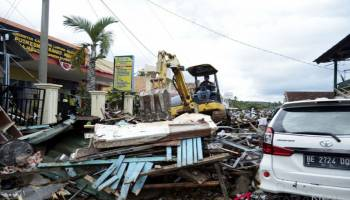 Update Korban Jiwa Akibat Tsunami Selat Sunda Capai 281