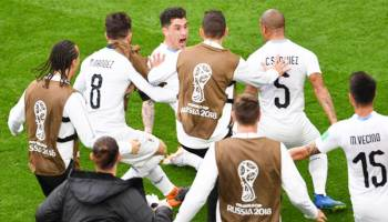 Uruguay Taklukan Mesir 1-0