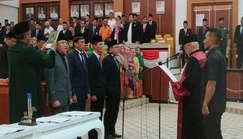 Usai Dilantik, DPRD Babel Langsung Selesaikan Alat Kelengkapan Dewan