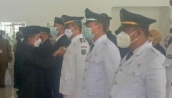Usai Lantik 134 Pegawai, Bupati Bangka Harap Ada Percepatan Program Daerah