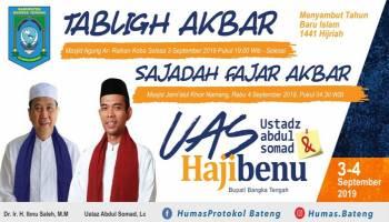 Ustadz Abdul Somad akan Hadiri Tabligh Akbar di Bangka Tengah