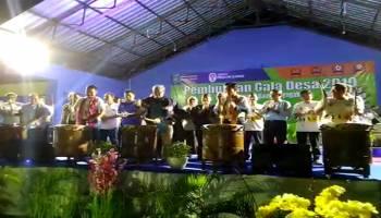 Video 1.607 Atlet Ramaikan Gala Desa 2019 di Bangka Tengah