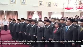 Video 30 Anggota DPRD Kota Pangkalpinang Resmi Dilantik