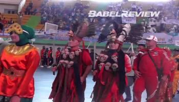 VIDEO Berbagai Penampilan Meriahkan Pembukaan Pornas XV Korpri di Babel
