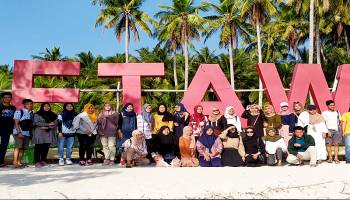 VIDEO EkSplore Keindahan Pulau Ketawai, Mahasiswa Solo Jelajahi Wisata Baru Pulau Gusung Asam