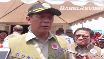 VIDEO Kepala BNPB Paparkan Potensi Pertanian dan Perkebunan Yang Dimiliki Bangka Belitung