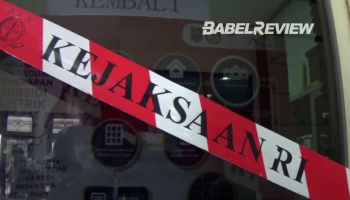 VIDEO Mencium Aroma Dugaan Korupsi, Kejati Geledah Kantor Dinas ESDM Babel