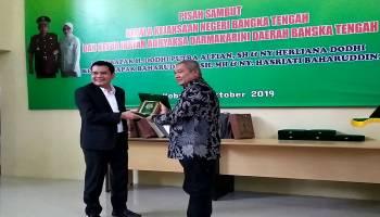 Video Pisah Sambut Kejari Bangka Tengah, Baharuddin gantikan Dodhi
