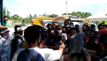 VIDEO Puluhan Petani Ubi Geruduk PT. BAA