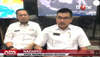 (VIDEO) Sekda Babel Paparkan Strategi Babel Hadapi Corona