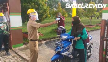 Video SMA 1 Toboali Gelar Uji Coba KBM di Tengah Pandemi Covid