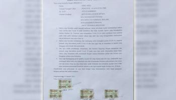 Viral! Obie Ardi Kirim Surat Ke Presiden, Tak Percaya Covid Hingga Siap Rangkul Jenazah Pasien Covid