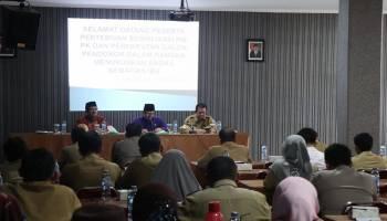 Wabup Bangka Buka Sosialisasi PIS PK dan Perekrutan Calon Pendonor