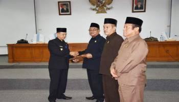 Wabup Bangka Sampaikan Raperda RPJMD 2019 - 2023