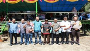 Wabup Markus Ruwahan Bersama Masyarakat Dusun Rajek