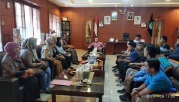 Wabup Terima Kunjungan 15 Peserta Pelatihan Berbasis Kompetensi Tingkat Nasional
