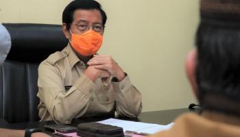 Wagub Abdul Fatah Bahas Perizinan Kewenangan Amdal, UKL-UPL Bagi Tambak Udang