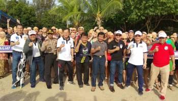Wagub Abdul Fatah Buka Sungailiat Triathlon