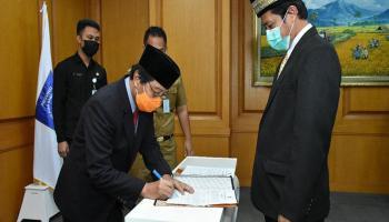 Wagub Abdul Fatah Harapkan Eksistensi PT. Bumi Bangka Belitung Sejahtera