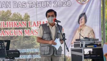 Wagub Abdul Fatah Ingatkan Pentingnya Penghijauan Daerah Aliran Sungai
