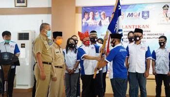 Wagub Abdul Fatah Lantik Pengurus DPW Perkumpulan Media Online Indonesia Babel